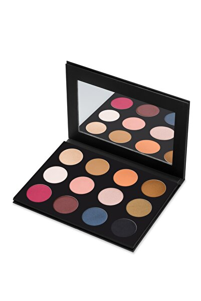 New Well 12'li Göz Farı Paleti - Derma Cover Eyeshadow Palette 61 8680923311678