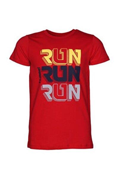 Kırmızı Erkek Çocuk Marıto Kısa Kollu Tişört