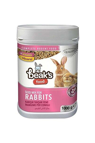 Beaks Karışık Tavşan Yemi 1000 gr