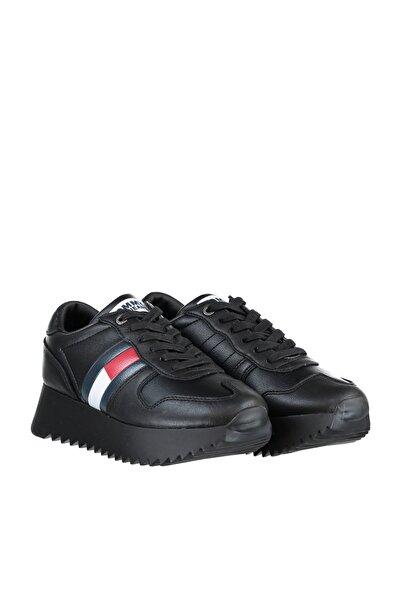 Tommy Hilfiger Kadın High Cleated Sneaker EN0EN00288