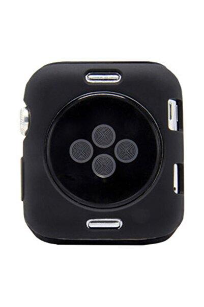 Microcase Apple Watch Seri 5 40 Mm Armor Tpu Silikon Kılıf - Siyah