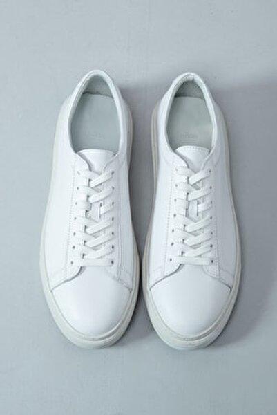 Slant Deri Sneaker Beyaz