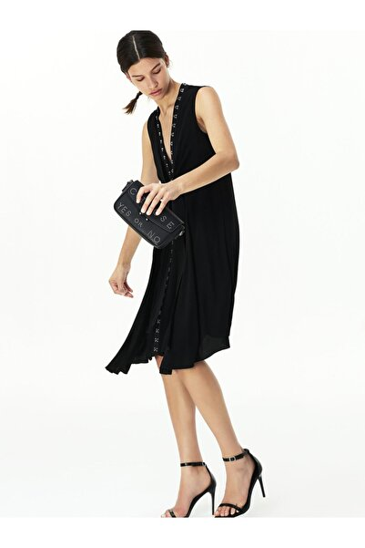 Twist Agraf Şeritli Elbise