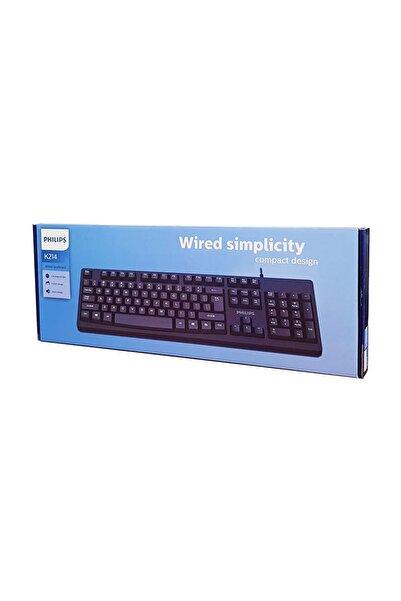 Philips SPK6214 Siyah USB Q Multimedia Klavye