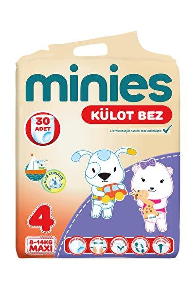 Minies Külot Bez 4 Beden 30 Adet  8-14 Kg Maxi