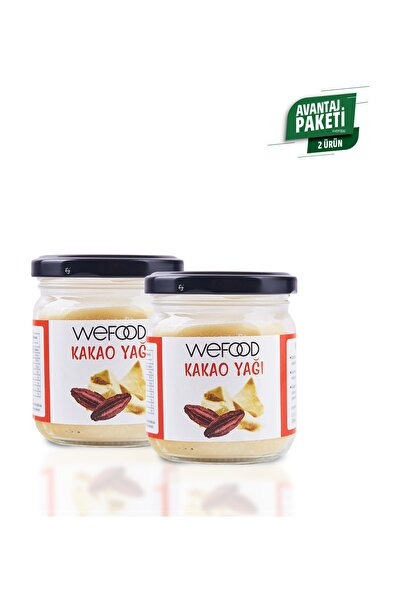 Wefood Organik Kakao Yağı 150 ml 2'li