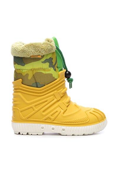 G&G Sarı Çocuk Pvc Yağmur Çizmesi Çizme 104 1602 UNI CZM 24-34