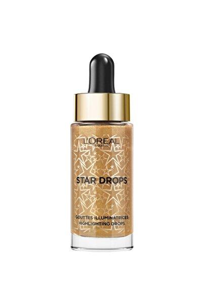 L'Oreal Paris Likit Aydınlatıcı - Xmas Stardust Highlighting Drops 3600523642663