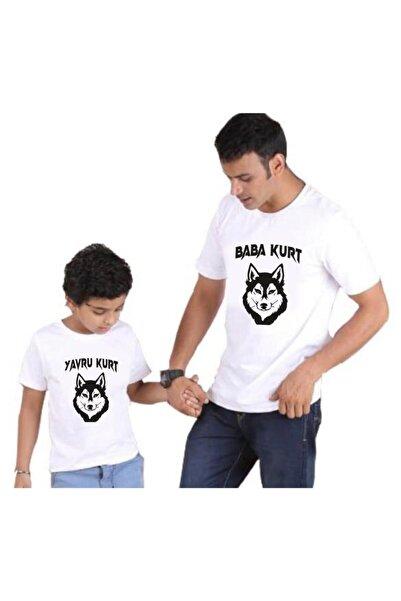 venüsdijital Baba Kurt Yavru Kurt Baskılı Tişört (BABA OĞUL KOMBİN YAPILABİLİR FİYATLAR AYRI AYRIDIR)