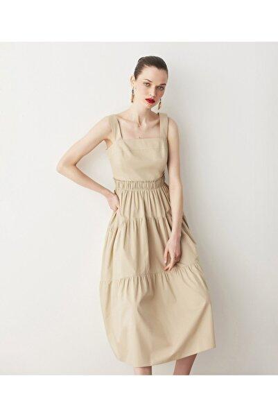 İpekyol Trapez Poplin Elbise