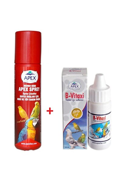 Apex Sprey & B Vitaxi Tüy Bakım Seti