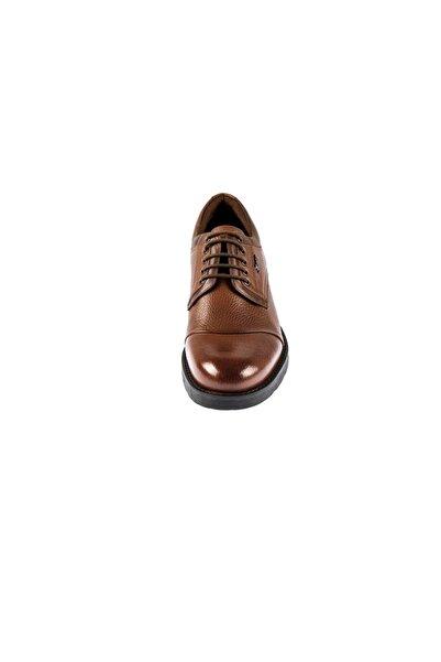 Fosco Taba Hakiki Deri Kauçuk Taban Sıcak Astar Kışlık Erkek Ayakkabı 7520 771 603