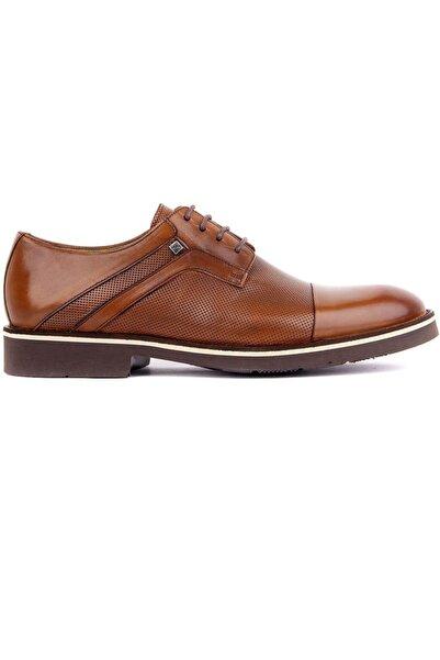 Fosco Bağcıklı Taba Deri Eva Erkek Günlük Ayakkabı 9087 45