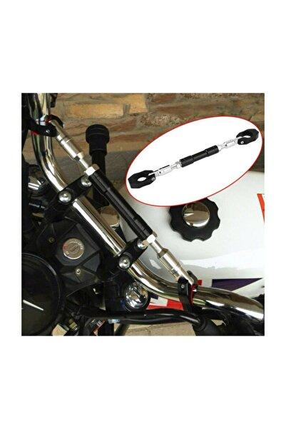 Knmaster Ortası Ayarlanabilir Motosiklet Gidon Barı Siyah