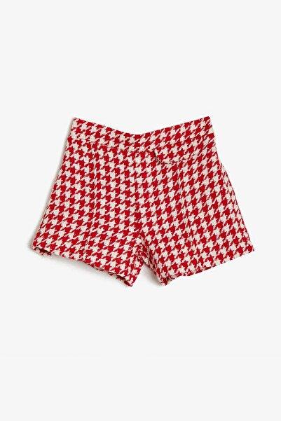 Koton Kız Çocuk Kırmızı Şort 0YKG47017OK