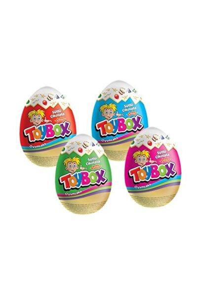 Toybox Sütlü Çikolatalı Sürpriz Yumurta 24 Adet