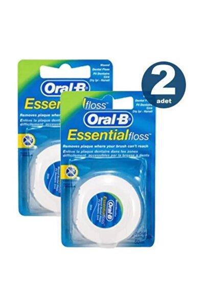 Oral-B Essential Floss Naneli Diş Ipi 50 Metre X 2 Adet Ef002