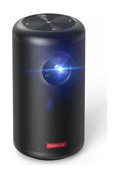 Anker Nebula Capsule Iı Akıllı Mini Portatif Projeksiyon 200 Lumen 720p Hd Hoparlör Cep Sineması