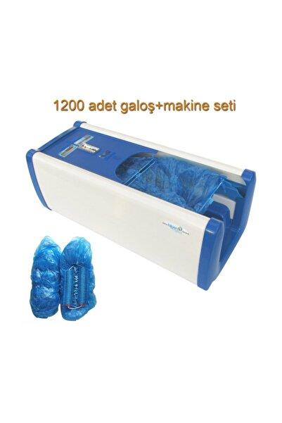 Tarko Hijyen Galoş Giyme Makinesi Mavi 1200 Adet Galoş Set 920411-Blue-set