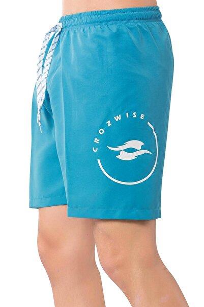 Crozwise ERKEK DENİZ ŞORTU 3078-11 mavi