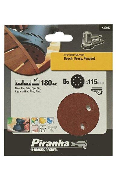 Black&Decker Eksantrik Zımpara Kağıdı X32017 5 Parça 115mm