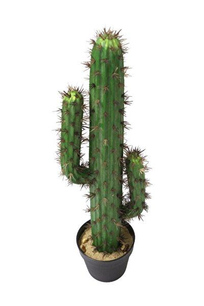 Yapay Çiçek Deposu Yapay Kaktüs Ağacı 70 Cm Adam Model