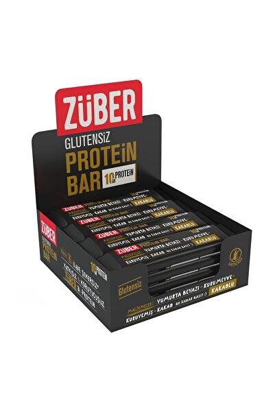 Züber Kakaolu Protein Barı - 35 gr x 12 Adet