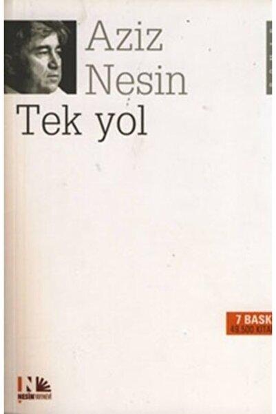 Nesin Yayınları Tek Yol / Aziz Nesin /