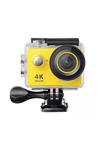 Gomax 4k Wifi Sports Ultra Hd Su Geçirmez Aksiyon Kamerası Sarı