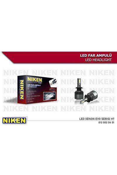 Niken Led Xenon Far Ampul H7 Zenon Far A+ Kalite 1 Yıl Garantili