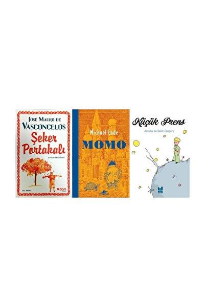 Can Yayınları Mutlaka Okumanız Gereken 3'lü Kitap Serisi 1 (şeker Portakalı - Momo - Küçük Prens) Original