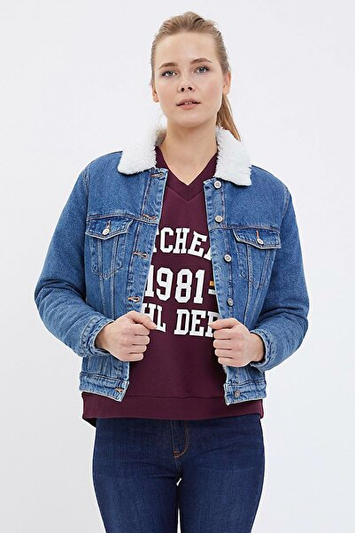 Loft Kadın Jean Ceket LF2022333