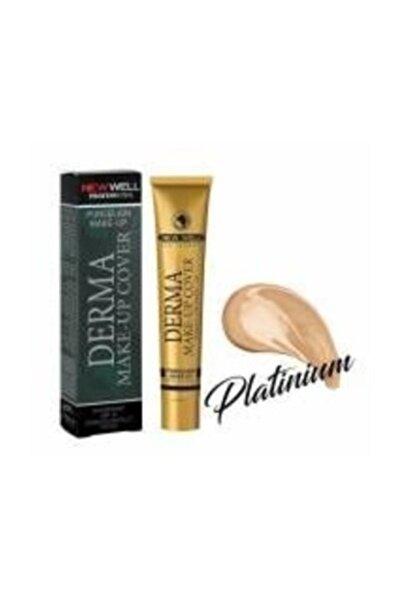 New Well Derma Make-up Yoğun Kapatıcı Fondöten 05 Platinum