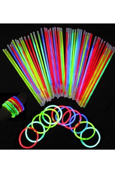 hk Glow Stick Neon Çubuk 20 Cm 10 Adet