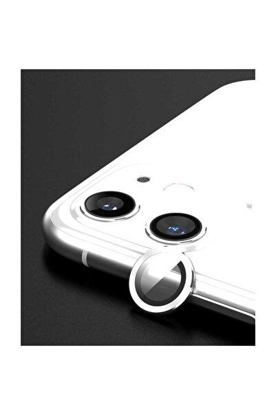 Nezih Case Zoreapple Iphone 11 Kamera Lens Koruyucu Beyaz