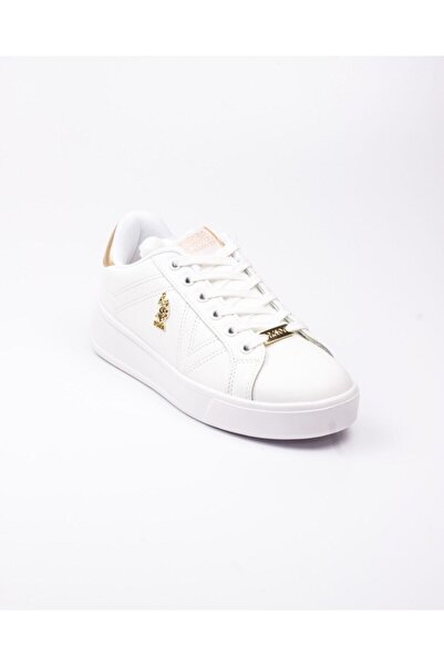 U.S. Polo Assn. U. S. Polo Exxy Beyaz Kadın Sneaker Beyaz-38