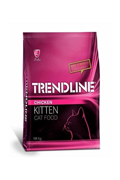 Trendline Kitten Tavuklu Yavru Kedi Maması 10 kg