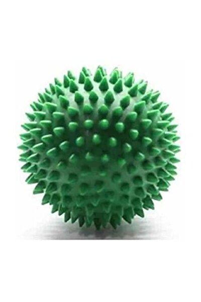 Dragon Duyu Uyarıcı Dikenli Masaj Topu Sert 7,5 Cm -yeşil