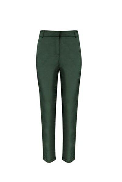 Kadın Paraşüt Kumaş Duble Paça Pantolon 7490