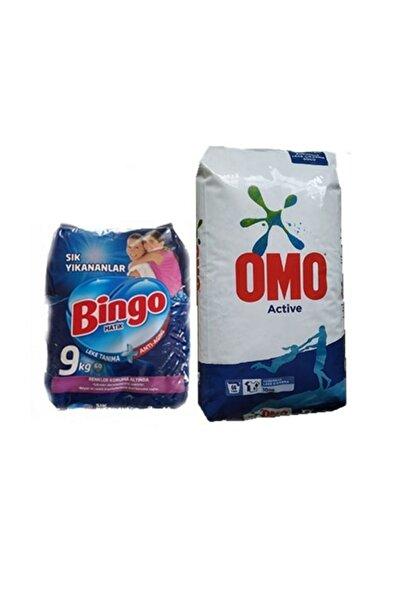 Bingo Matik Sık Yıkananlar 9kg + Omo Matik Active 10 Kg
