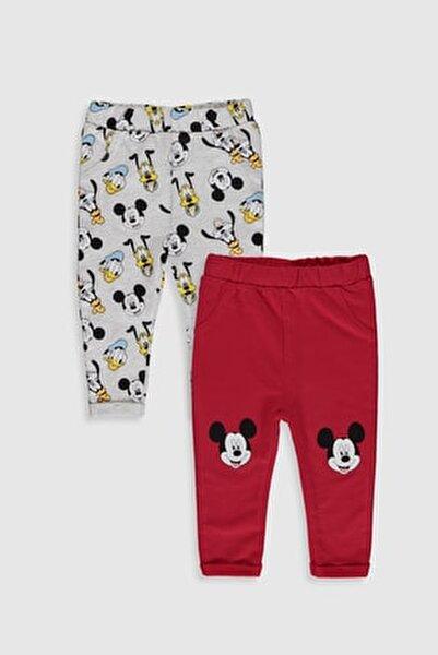 Mickey Mouse Erkek Bebek Kırmızı Hpf Bebek Takımları