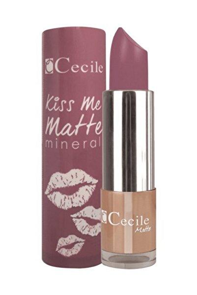 Cecile Kiss Me Matte Mineral Mat Ruj 310