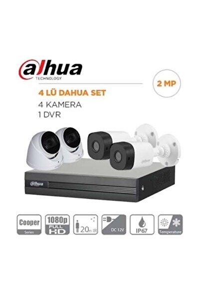 DAHUA 4 Kameralı Set