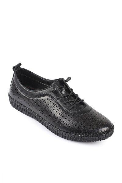 Daxtors Siyah Kadın Ayakkabı DXTRSWMN5004