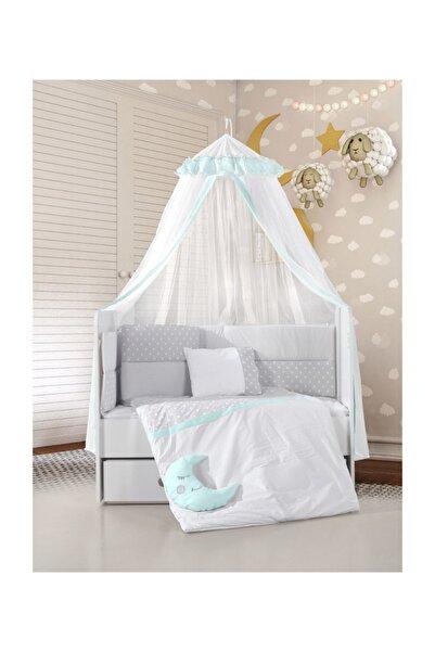 Kanz Zuzu Bebek Uyku Seti Mint - Yeşil 75x130