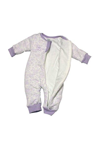 Baby Corner Kız Bebek Beyaz FermuarlıUykuTulumu