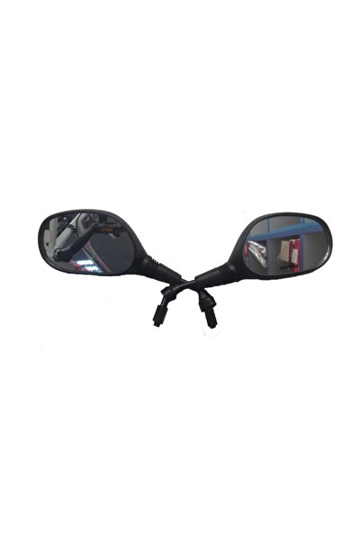 Peak Motorsiklet Aynası Cup, Scooter Ayna 8 Mm