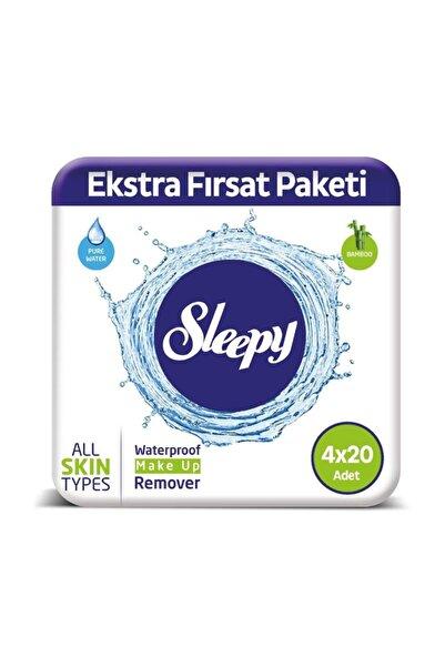 Sleepy Makyaj Temizleme Mendili 4X20 Adet 80 Yaprak