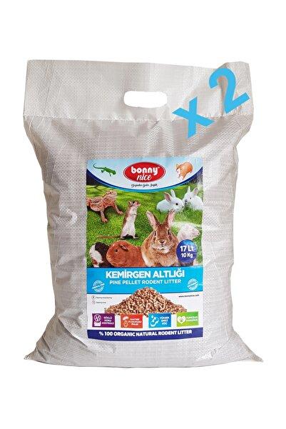 Bonny Nice Çam Pelet Kemirgen Altlığı 10 kg 17 l X 2 Paket 34 l