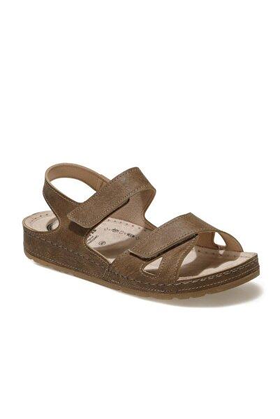 Polaris 5 Nokta 103304NZ1FX Kahverengi Kadın Sandalet 101021403